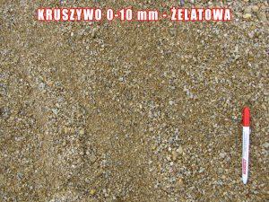 Kruszywo 0-10 mm - Żelatowa