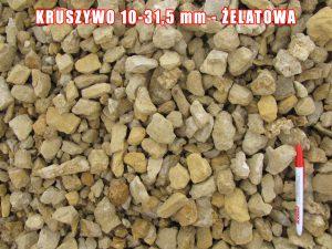 Kruszywo 10-31,5 mm - Żelatowa