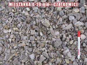 Mieszanka 0-20 mm - Czatkowice