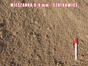 Mieszanka 0-4 mm - Czatkowice