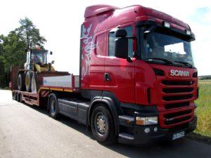 Scania koparka